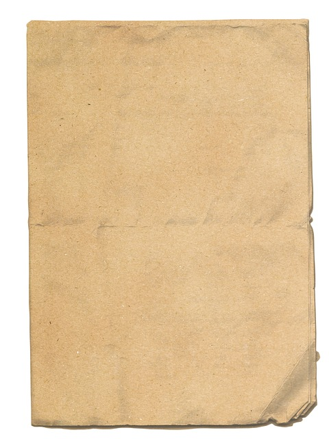 Paper, Rough, Folded, Sheet, Dirty, Ragged, Texture