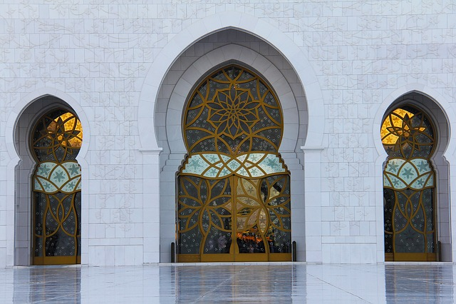 Pray, Muslim, Sheikh Zayed Grand Mosque, Mosque