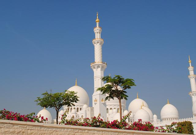 Abu Dhabi, White Mosque, Sheikh Zayid Mosque, Islam
