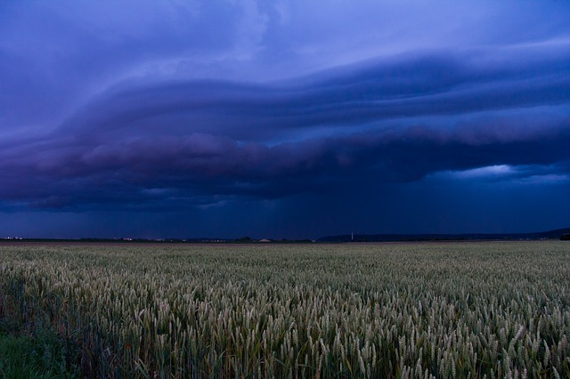 Landscape, Agriculture, Shelf Cloud, Squall Line