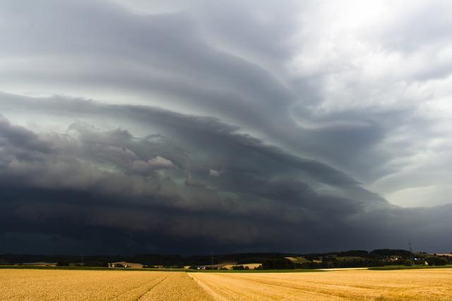 Sky, Shelf Cloud, Squall Line, Storm, Thunderstorm