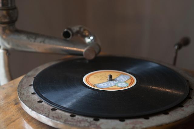 Music, Longplay, Grammophon, Retro, Vinyl, Shellack