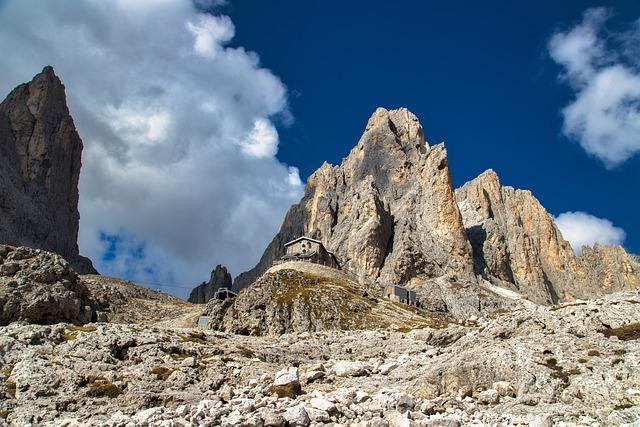 Rifugio, Shelter, Italy, Dolomites, Pale Di San Martino