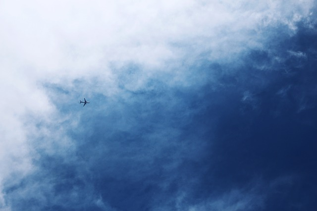 Sky, Shenzhen, Aircraft, Blue Sky And White Clouds