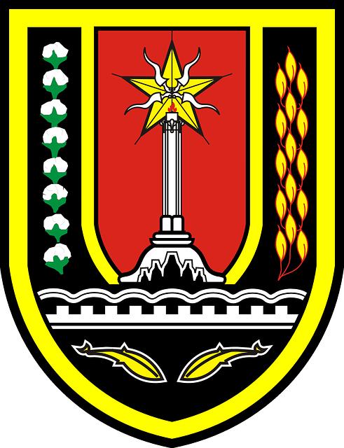 Shield, City, Stamp, Logo, Semarang