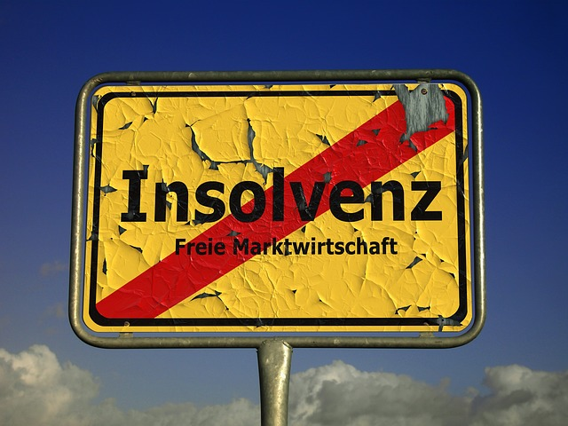Insolvency, Shield, Town Sign, Note, Market Economy