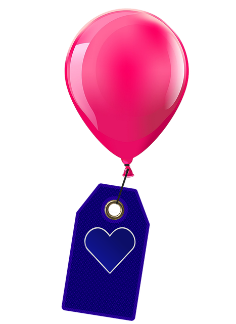 Balloon, Shield, Heart, Background, Excuse Me, Label