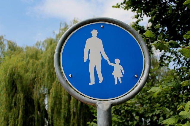 Pedestrian, Walk, Shield, Lake Constance, Arbon