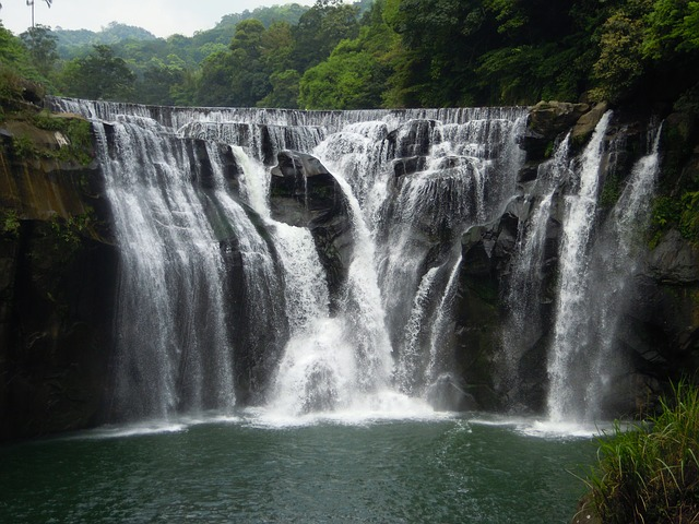 Shifen Waterfall, Waterfall, Taiwan, Falls, Pinghsi