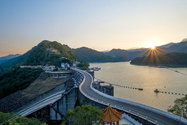 Taiwan, Taoyuan, Shihmen Reservoir