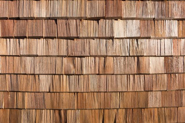 Shingle, Wood, Facade Cladding, Wall, Wood Shingle