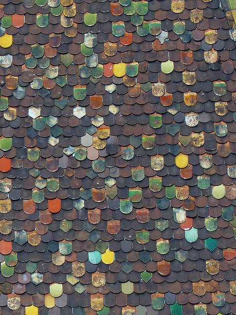 Roof, Brick, Colorful, Color, Shining, Metzger Tower