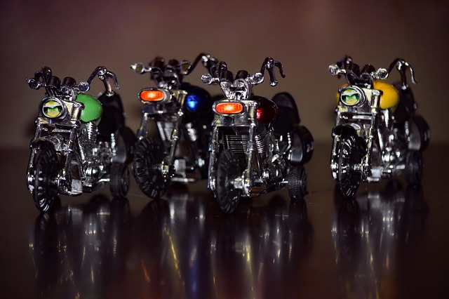 Motorcycles, Bikes, Shining, Reflection, Toys