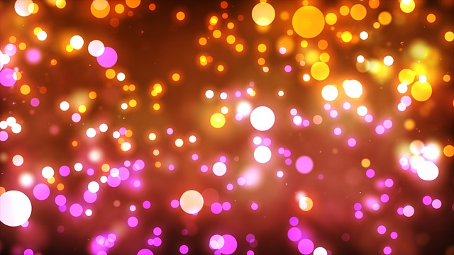 Glow, Shiny, Colors, Bokeh, Abstract, Background