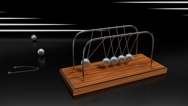 Spherical Ball Joint, Pendulum, Balls, Shiny