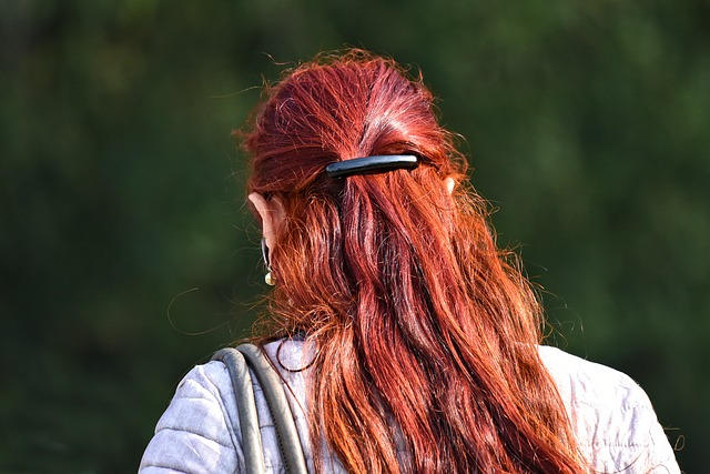 Red Hair, Hair, Long Hair, Woman, Woman's Hair, Shiny