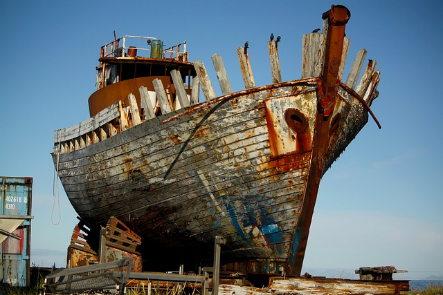 Abandoned, Broken, Destroyed, Old, Rust, Rusty, Ship