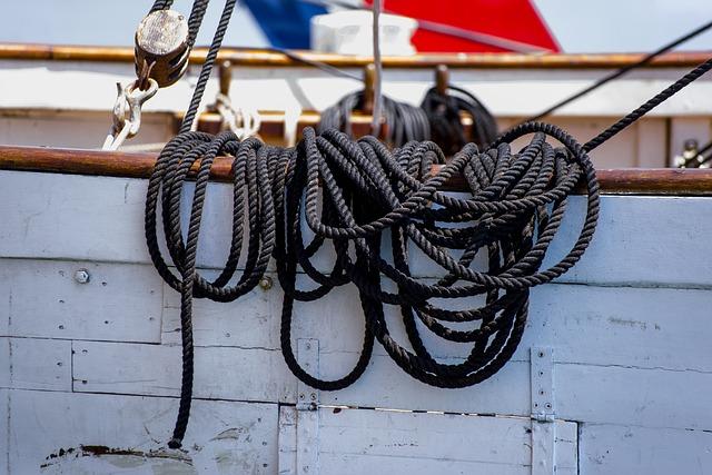 Rope, Mooring, Cord, Boat, Ship, Marine, Maritime