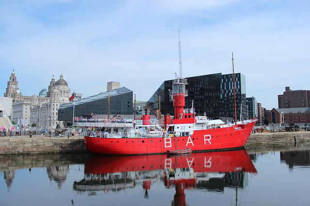 Liverpool, Port, Dock, Ship