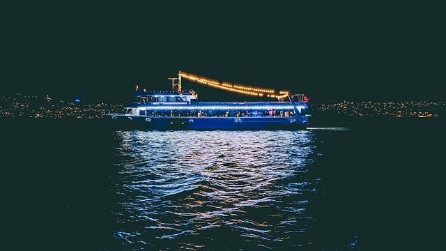 Ship, Marine, Istanbul, Night, City, Faisalabad, Throat