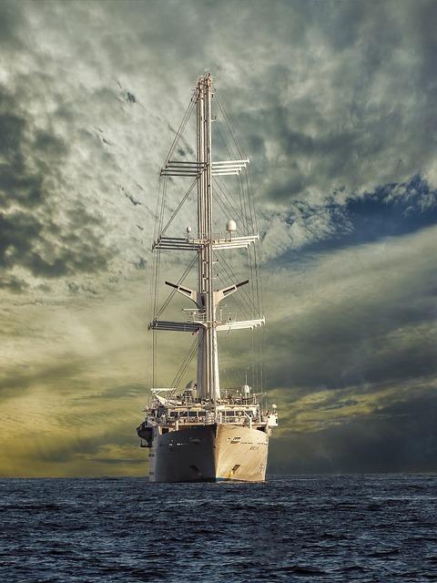 Sailing Vessel, Ship, Battleship, Mega Yacht