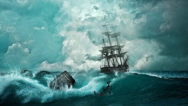 Ship, Shipwreck, Adventure, Setting, Boat, Mysticism