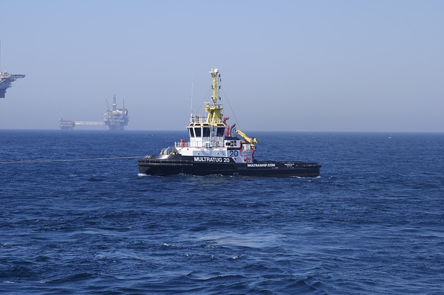 Tug, Shipping, Ship, North Sea