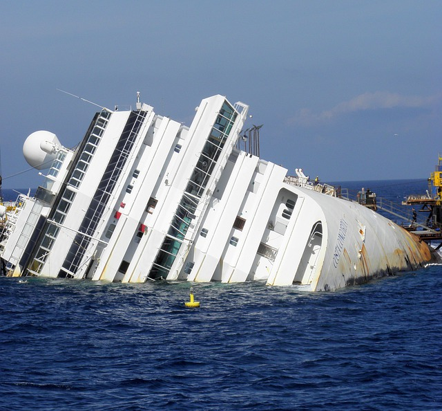 Ship, Passenger Ship, Wreck, Italy, Il Giglio