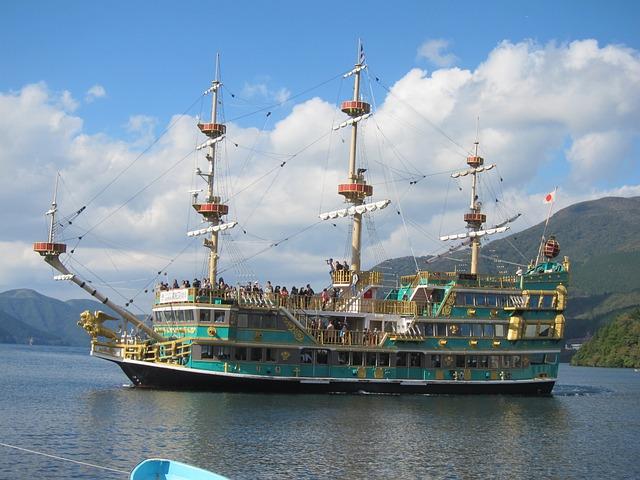 Ship, Corsair, Novatec Lake Ashi, Pirates