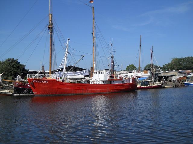 Port Of Greifswald, Ship, Port