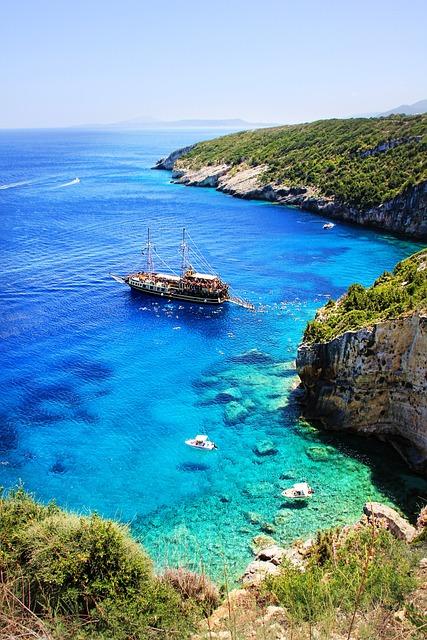 Zakynthos, Sea, Ship, Holiday, Coast, Boot, Summer