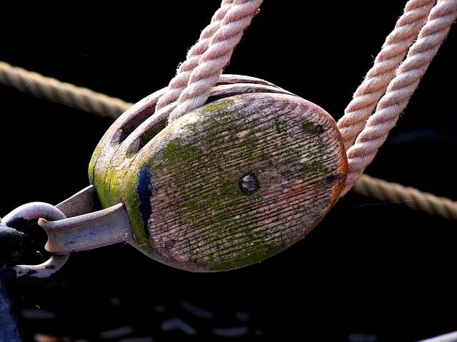 Maritime, Dew, Rope, Leash, Cordage, Ship Traffic Jams