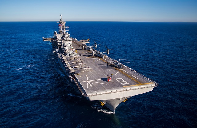 Uss America, Aircraft Carrier, Ship, United States
