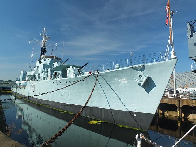 Warship, Ship, Grey, Destroyer, Transportation, Sea