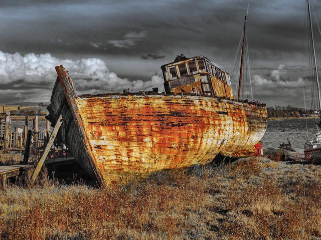 Sailing Ship, Wreck, Wreckage, Ship Wreck