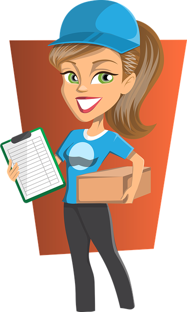 Delivery, Girl, Courier, Woman, Shipment, Shipping