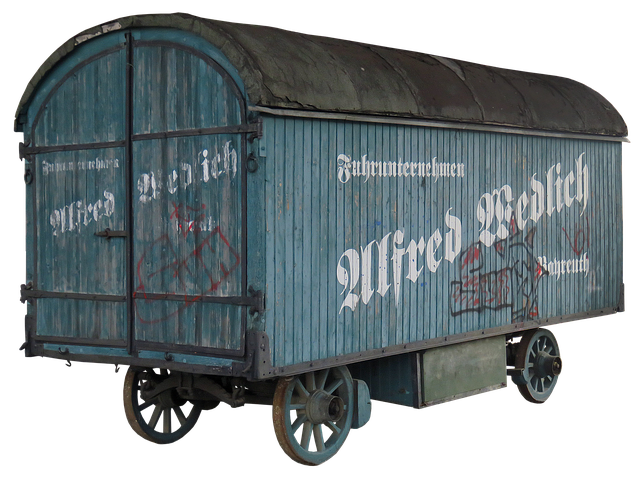 Goods Wagons, Wood Car, Historically, Shipping