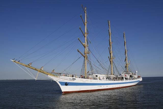 Shipping, Seafaring, Sail Training Ship Mir