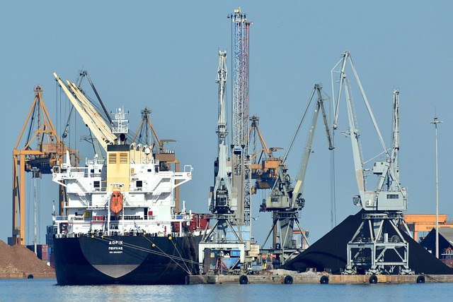 Port, Ship, Shipping, Water, Cargo, Sea, Industry