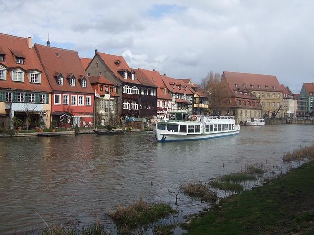 Bamberg, Shipping, Tour, Tourists, Small Venice
