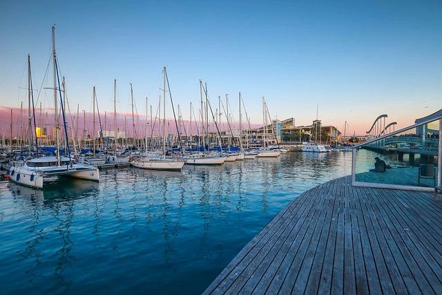 Ships, Port, Reflections, Ocean, Pier, Travel