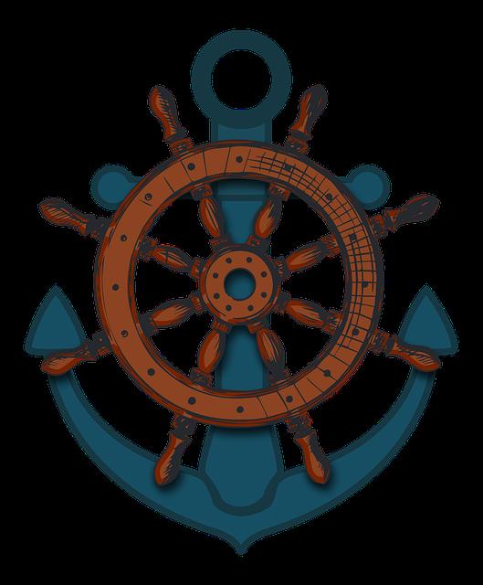 Ship's Wheel, Ships Wheel, Wheel, Old, Nautical, Boat