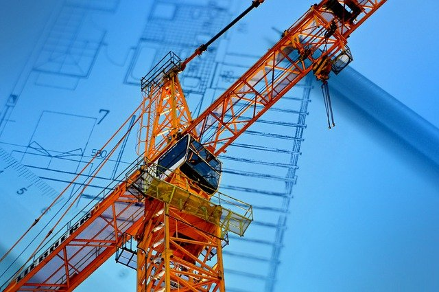 Shipyard, Project, Crane, Construction, Architecture