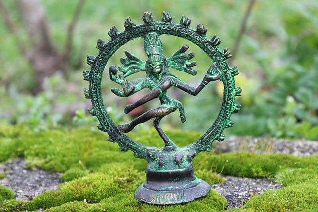 Nature, Grass, Shiva, Spirituality, Statue