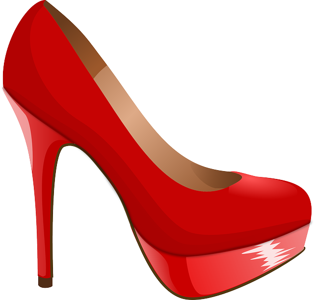 High Heel, Shoe, Red, Heel, High, Pump, Woman, Elegant