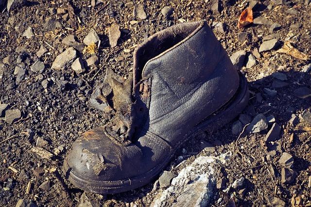 Garbage, Debris, Waste, Shoe, Pollution, Lapsed