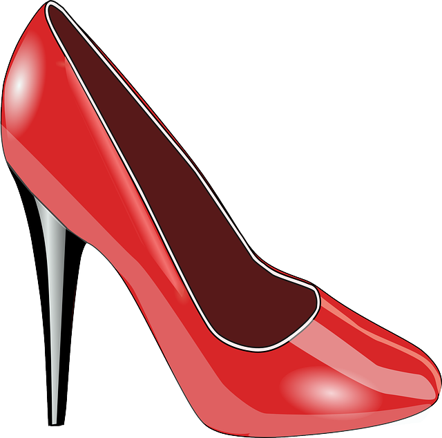 Shoes, Red, Ladies, Women's, Fashionable, Accessories