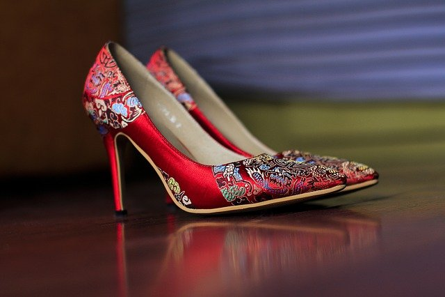 Fashion, High Heels, Shoes, Pumps, China Shoes