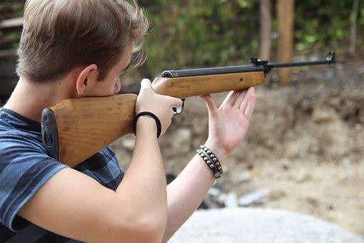 Shooting, Man, Rifle, Aim, Gun, Shoot, Weapon, People
