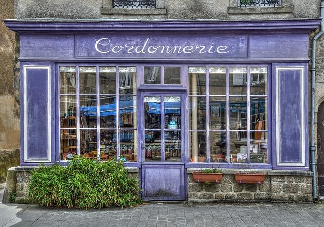 Shoe Repair, Shop, Store, Guérande, Former, Shoemaker